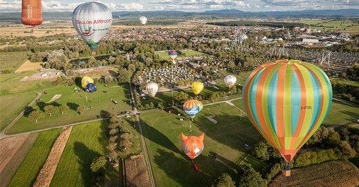 Ballonfestival, Europa-Park, Heißluftballon, © Europa-Park