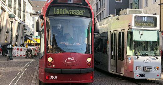 VAG, Freiburg, Straßenbahn, Linie 1, © baden.fm (Symbolbild)