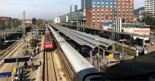 Hauptbahnhof, Freiburg, Deutsche Bahn, © baden.fm (Symbolbild)