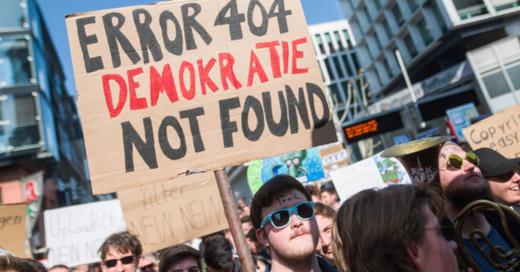 Demo, Urheberrecht, Stuttgart, Artikel 11, Artikel 13, © Sebastian Gollnow - dpa