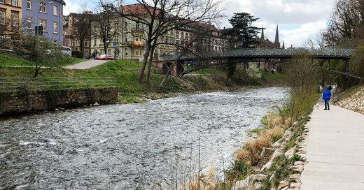 Dreisam, Uferweg, Frühling, Freiburg, © baden.fm (Symbolbild)