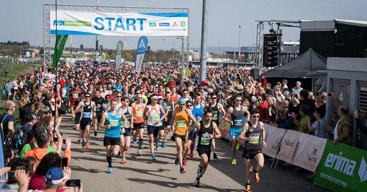 Mein Freiburg Marathon, Lauf. Start, © FWTM / Baschi Bender