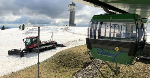 Skilift, Seilbahn, Feldberg, Turm, © Liftverbund Feldberg