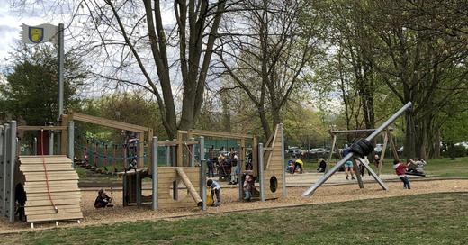 Spielplatz, Bad Krozingen, Kurpark