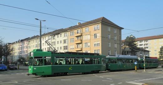 Tramlinie 3, Basel, Burgfelderstraße, © Juri Weiß - Staatskanzlei Basel-Stadt