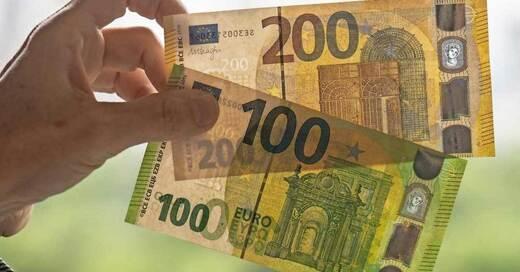 Geld, Bargeld, Euro, Scheine, © Boris Rössler - dpa (Symbolbild)