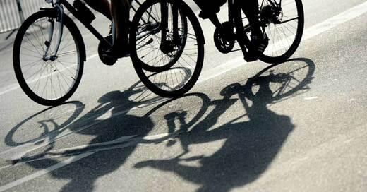 Fahrrad, Radfahrer, Velo, © Maurizio Gambarini - dpa (Symbolbild)
