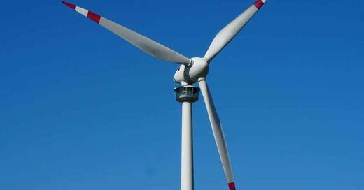 Windkraftwerk, Windrad, Windkraft, © Pixabay (Symbolbild)