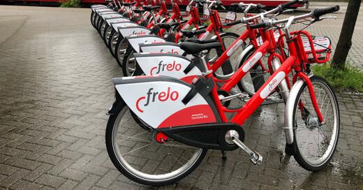 Velo, Frelo, Freiburg, Fahrrad, Verleih, VAG, © baden.fm