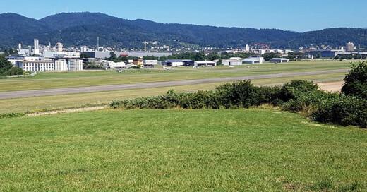 SC Freiburg, Baustelle, Fußball, Stadion, Wolfswinkel. Freiburg, Flugplatz, © baden.fm