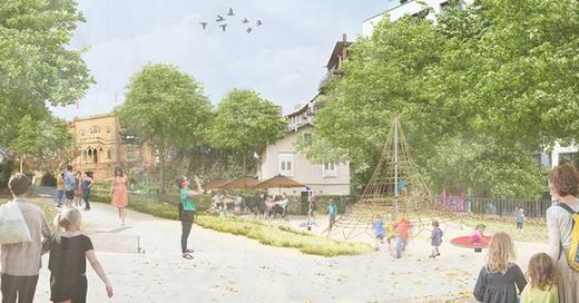 Colombipark, Umgestaltung, Freiburg, © © Garten und Tiefbauamt