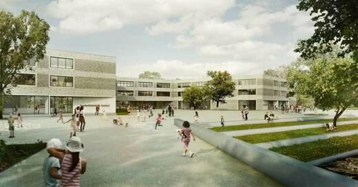 Staudinger, Schule, Freiburg, Haslach, © Sacker Architekten