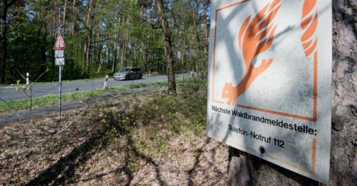 Waldbrand, Warnung, © Julian Stratenschulte - dpa (Symbolbild)