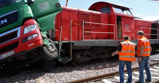 Zugunglück, Schwarzwaldbahn, Gutach, Hausach, Güterzug, © Benedikt Spether - dpa