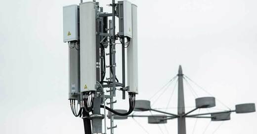 5G, Mobilfunkmast, Handynetz, © Federico Gambarini - dpa (Symbolbild)