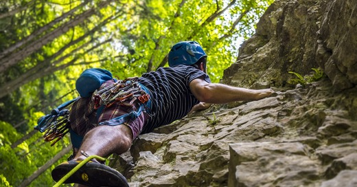 Klettern, Freeclimbing, Extremsport, Felswand, © Pixabay (Symbolbild)