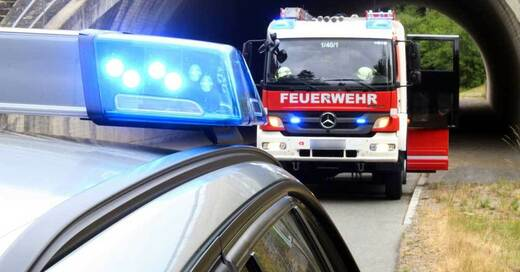Feuerwehr, Einsatz, Blaulicht, © Pixabay (Symbolbild)