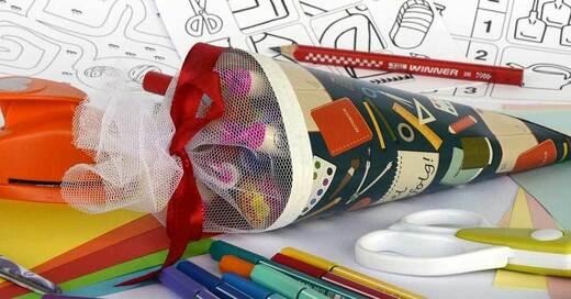 Schultüte, Einschulung, Erstklässler, Schule, © Pixabay (Symbolbild)