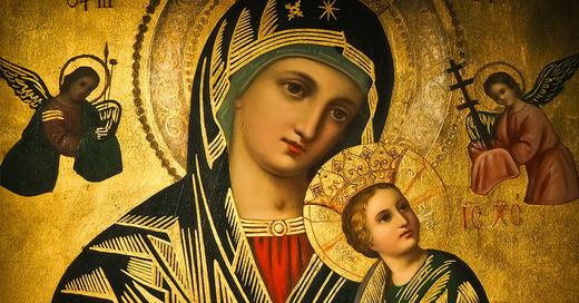 Symbolbild - Gemälde Maria mit Kind, © pixabay