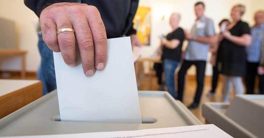 Europawahl, Urne, Wahl, © Sebastian Gollnow - dpa (Symbolbild)