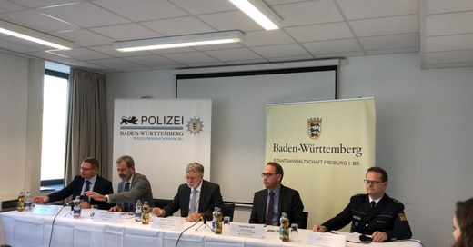 Pressekonferenz im Mordfall Haid, © baden.fm