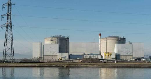 AKW, Fessenheim, Atomkraftwerk, © Patrick Seeger - dpa