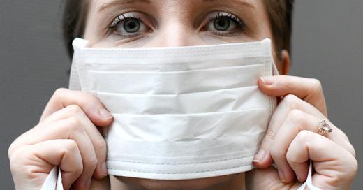 Mundschutz, Epidemie, Krankheit, Gesundheit, Corona, Virus, © Hans Klaus Techt - APA / dpa