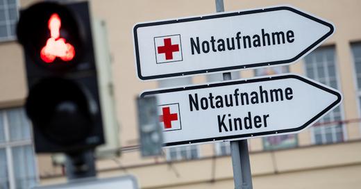 Krankenhaus, Klinik, Notaufnahme, Kinderkrankenhaus, Notfall, © Sven Hoppe - dpa (Symbolbild)