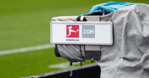 Bundesliga, Kamera, Übertragung, TV, SC Freiburg, Fußball, © Sören Stache - dpa (Symbolbild
