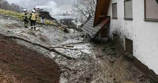 Hochwasser, Unwetter, © Patrick Seeger - dpa
