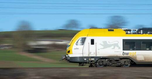Breisgau-S-Bahn, Zug, Bahn, Waggon, © Sebastian Gollnow - dpa (Symbolbild)