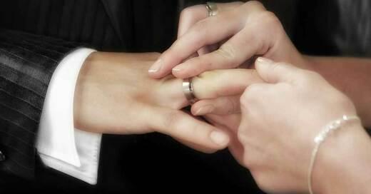 Hochzeit, Trauung, Eheringe, © Pixabay (Symbolbild)