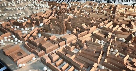 Freiburg, Innenstadt, Altstadt, Modell, © baden.fm