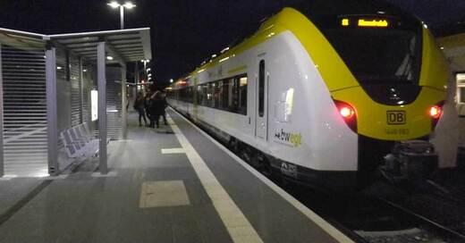 Gottenheim, Bahnhof, Breisgau-S-Bahn, © baden.fm