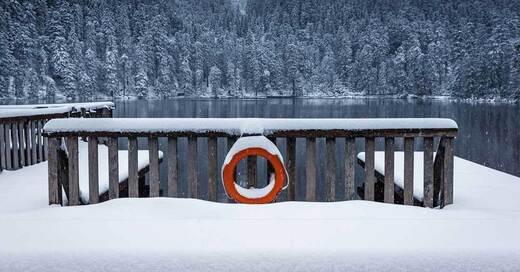Mummelsee, Winter, Schwarzwald, Ortenau, © Pixabay (Symbolbild)