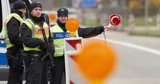 Grenzkontrolle, Grenzübergang, Bundespolizei, © Thomas Frey - dpa