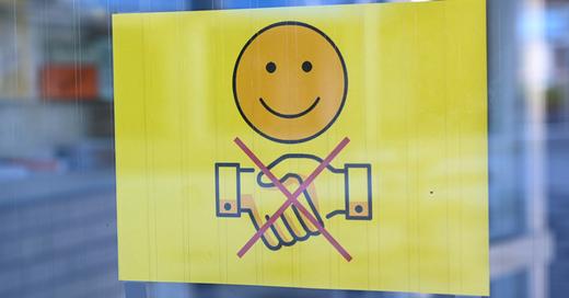 Händeschütteln, Handhygiene, © Felix Kästle - dpa (Symbolbild)
