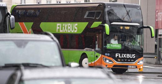 Flixbus, Fernbus, Lörrach, Hamburg, © Boris Rössler - dpa (Symbolbild)
