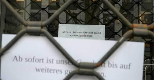 Gitter, Coronakrise, Geschäfte, Laden, © Sebastian Gollnow - dpa (Symbolbild)