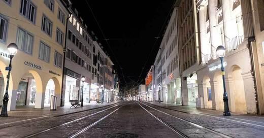 Freiburg, Innenstadt, Altstadt, Kajo, Nacht, © Patrick Seeger - dpa (Symbolbild)