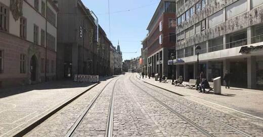 Altstadt, Innenstadt, Freiburg, Coronavirus, © baden.fm