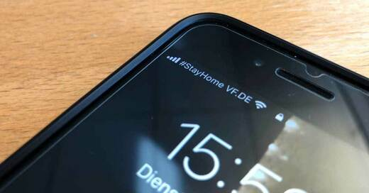 Handynetz, Coronavirus, Smartphone, StayHome, Vodafone, © baden.fm