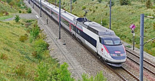 TGV, Hochgeschwindigkeitszug, Bahn, SNCF, Frankreich, © Pixabay (Symbolbild)