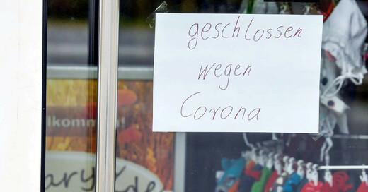 Geschäft, Laden, Schließung, Coronavirus, Coronakrise, © Patrick Pleul - dpa