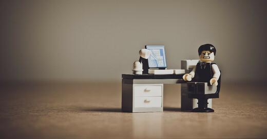 Arbeit, Karriere, Home Office, Arbeitsplatz, Job, Lego, © Pixabay (Symbolbild)