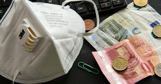 Wirtschaftskrise, Coronakrise, Coronavirus, Geld, © Pixabay (Symbolbild)