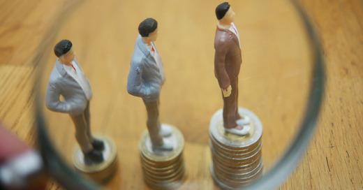 Gehaltscheck, Vergleich, Einkommen, Job, Karriereleiter, © Pixabay (Symbolbild)