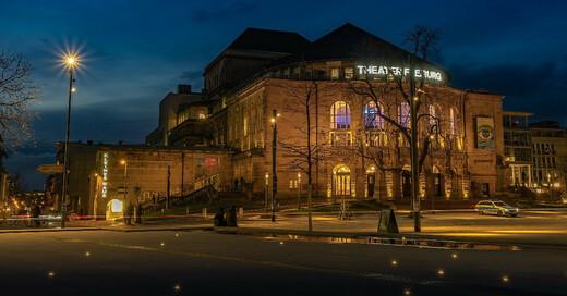 Stadttheater, Theater Freiburg, Platz der Alten Synagoge, © Pixabay (Symbolbild)