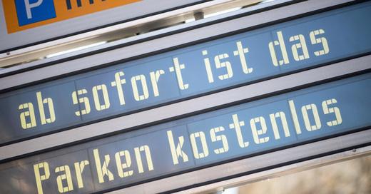 Parkhaus, Parkplatz, Parken, Parkgebühren, kostenlos, © Sebastian Gollnow - dpa (Symbolbild)