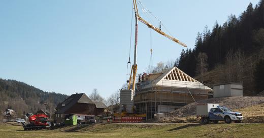 Bergwacht, Schwarzwald, Menzenschwand, Richtfest, Rettungswache, © Bergwacht Schwarzwald